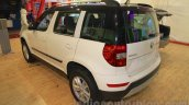 Skoda Yeti rear three quarter left at Nepal Auto Show 2015