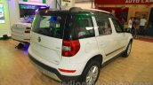 Skoda Yeti rear three quarter right at Nepal Auto Show 2015