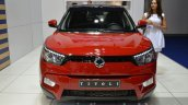 Ssangyong Tivoli Diesel front at the 2015 IAA