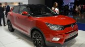 Ssangyong Tivoli Diesel front three quarter at the 2015 IAA