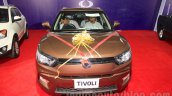 Ssangyong Tivoli front at the 2015 Nepal Auto Show