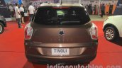 Ssangyong Tivoli rear at the 2015 Nepal Auto Show