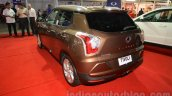 Ssangyong Tivoli rear quarter at the 2015 Nepal Auto Show