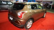 Ssangyong Tivoli rear three quarter at the 2015 Nepal Auto Show