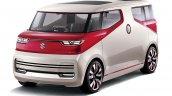 Suzuki Air Triser compact minivan concept front three quarter unveiled