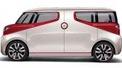 Suzuki Air Triser compact minivan concept side unveiled