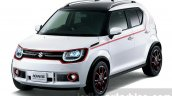 Suzuki Ignis Trail concept front quarter press shots