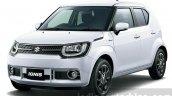 Suzuki Ignis front quarter press images