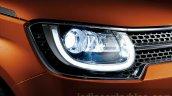 Suzuki Ignis headlight press images