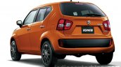 Suzuki Ignis rear press images