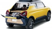 Suzuki Mighty Deck Concept tailgate open unveiled