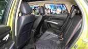 Suzuki SX4 S-Cross 1.4 T (Boosterjet) rear seats at the 2015 Chengdu Motor Show