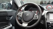 Suzuki Vitara S Grade steering wheel at IAA 2015