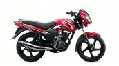 2015 TVS Sport red (95 km/l mileage)