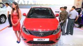 Tata Bolt front at the 2015 Nepal Auto Show