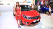 Tata Bolt front quarter at the 2015 Nepal Auto Show