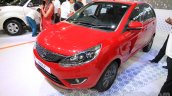 Tata Bolt front three quarter (1) at the 2015 Nepal Auto Show