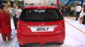 Tata Bolt rear at the 2015 Nepal Auto Show