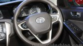 Tata Bolt steering wheel at the 2015 Nepal Auto Show