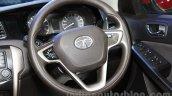 Tata Bolt steering wheel at the 2015 Nepal Auto Show