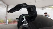 Tesla Model X falcon doors launch
