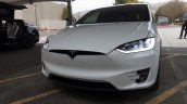 Tesla Model X front launch