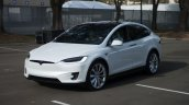Tesla Model X front quarter launch
