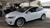 Tesla Model X front quarters launch