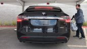 Tesla Model X rear launch