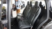 Tesla Model X rear seats launch
