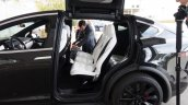 Tesla Model X seats launch