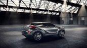 Toyota C-HR Concept (second version) rear three quarter unveiled