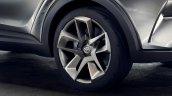 Toyota C-HR Concept (second version) rims unveiled
