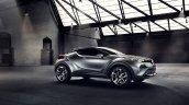 Toyota C-HR Concept (second version) side quarter unveiled