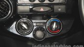 Toyota Etios Cross Diesel HVAC controls at the Nepal Auto Show 2015