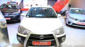 Toyota Etios Cross Diesel front at the Nepal Auto Show 2015
