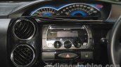 Toyota Etios Cross Diesel instrument cluster at the Nepal Auto Show 2015