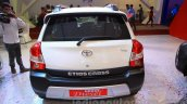 Toyota Etios Cross Diesel rear at the Nepal Auto Show 2015