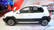Toyota Etios Cross Diesel side at the Nepal Auto Show 2015