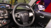 Toyota Etios Cross Diesel steering wheel at the Nepal Auto Show 2015