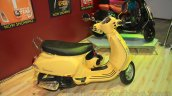 Vespa VX side yellow at Nepal Auto Show 2015