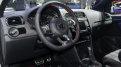 Volkswagen Polo GTI dashboard at IAA 2015