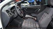 Volkswagen Polo GTI interior at IAA 2015