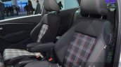 Volkswagen Polo GTI seat upholstery at IAA 2015
