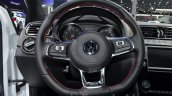 Volkswagen Polo GTI steering wheel at IAA 2015
