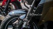 Yamaha MT-15 spied Indonesia USD fork