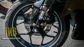 Yamaha MT-15 spied Indonesia front wheel