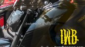 Yamaha MT-15 spied Indonesia fuel tank extension