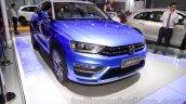 Zotye S21 front fascia at the 2014 Chengdu Motor Show