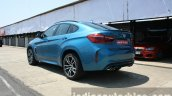2015 BMW X6 M rear three quarter launched in India